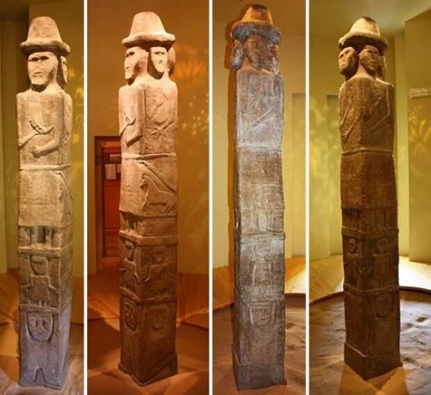 Язычество древних славян. Збручский идол.