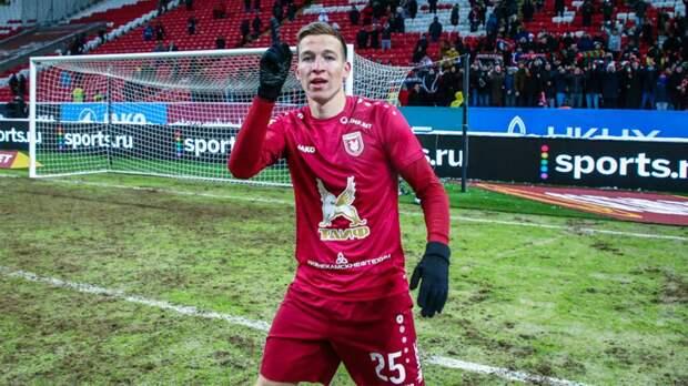 Макаров признан лучшим игроком матча «Уфа» — «Рубин»