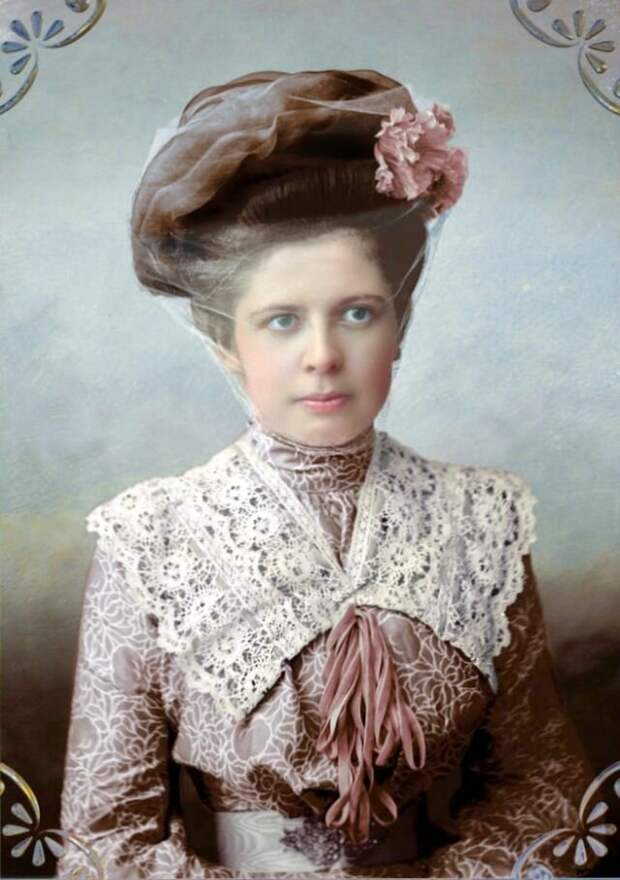 Модная дама из Кашина 1900-е