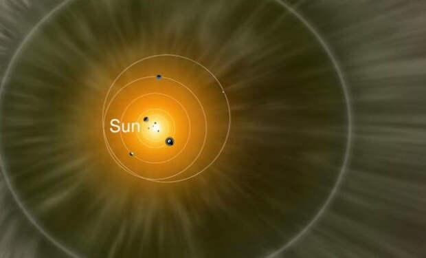 Космический зонд людей вышел за пределы Солнечной системы и засек аномальное давление