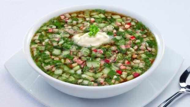 Холодные летние супы.