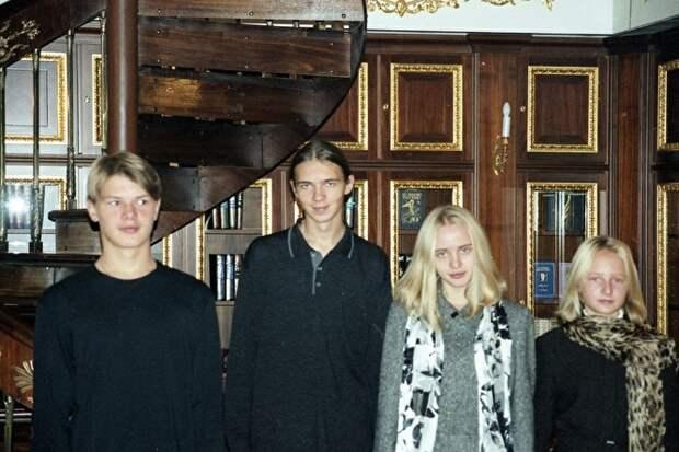 Фото в библиотеке Кремля