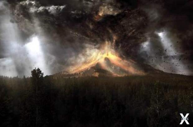 Извержение супервулкана Тоба - 74 тыс...