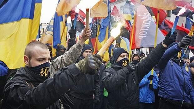 Инакомыслие в стране теперь запрещено: радикалы Украины запугивают население в угоду режиму