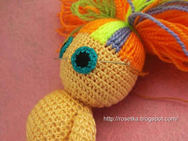 Игрушка-кукла Йока