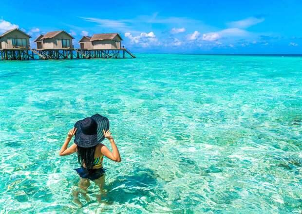 Анастасия Волочкова вернулась в Рай – на полюбившиеся ей Мальдивы – невероятные ощущения (Видео)