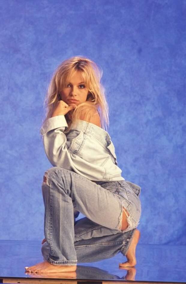 Памела Андресон в 1991 году.