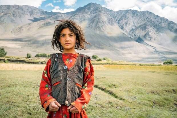Девочка из поселка Сархад-е-Вахан Ваханский коридор, афганистан, вид, горы, природа, путешествие, фотомир