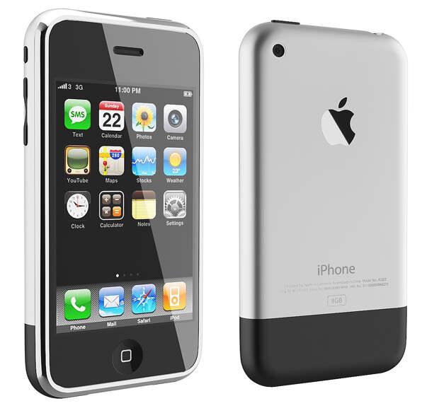 Первый iPhone. Устройство изменившее мир!