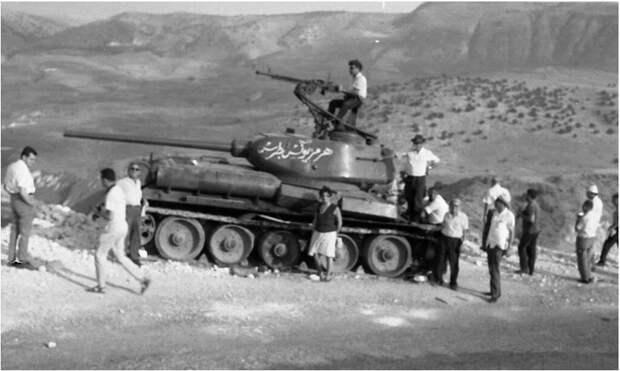Танки Т- 34/85 Сирийской армии,1967-1972г.