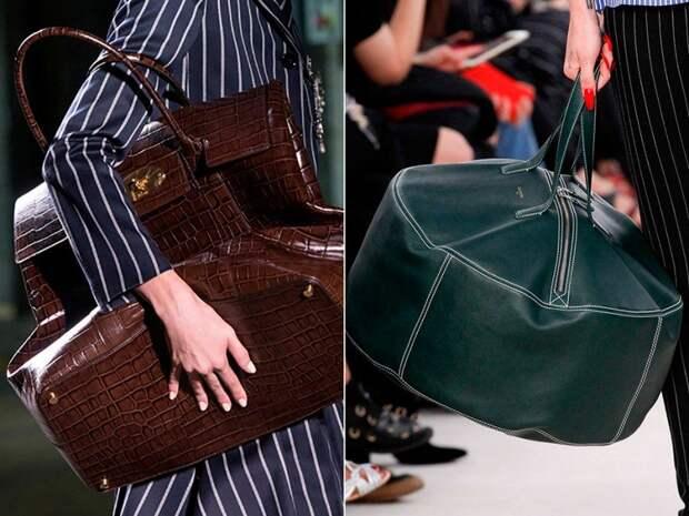 Гиганты, крошки, бесформенные мешки: модные сумки, которые не хочется выпускать из рук