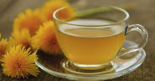 Очищающий сироп из одуванчика и хвоща для кишечника и печени