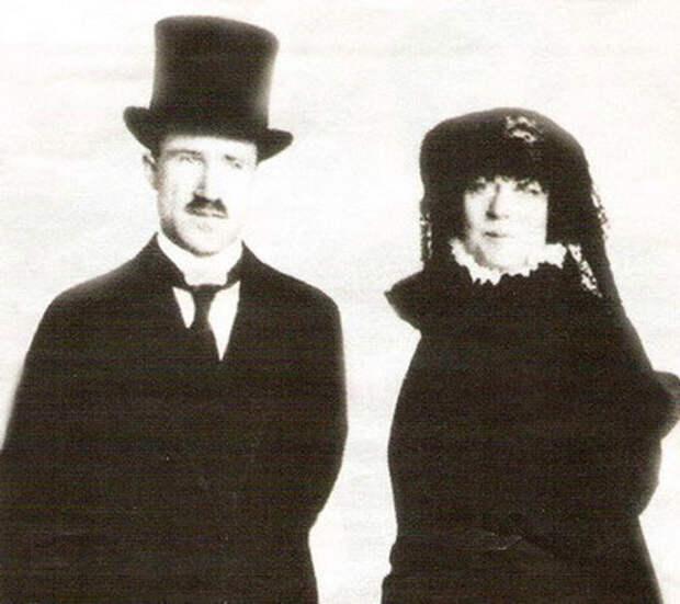 Александра Коллонтай и Марсель Боди