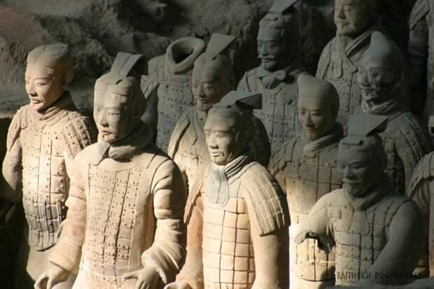 Терракотовая армия первого китайского императора