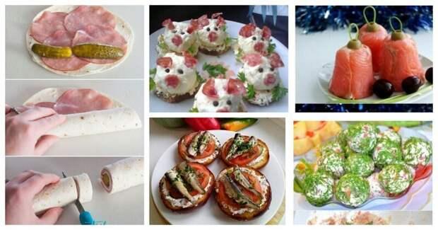 Закусон по-быстрячку всячина, закуска, интересное, кулинарные рецепты