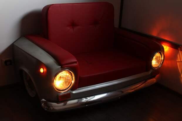 Кресло из ВАЗ-2101 авто, ваз, кресло, мебель, своими руками