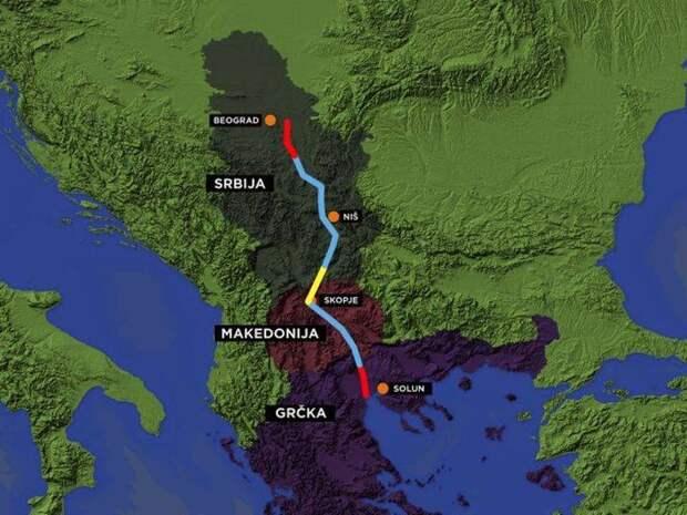 Русские трубы Хорватии