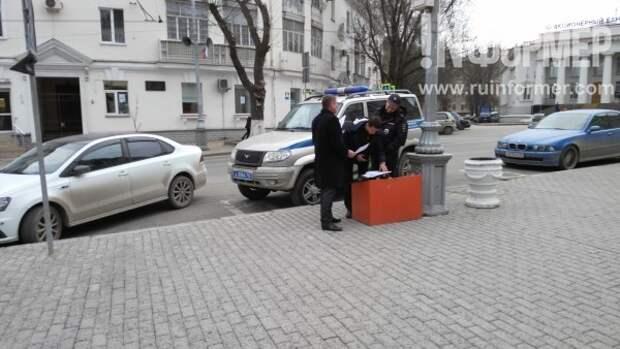 Одиночные пикеты «Русского блока»