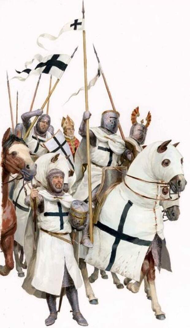 Воины Тевтонского ордена.