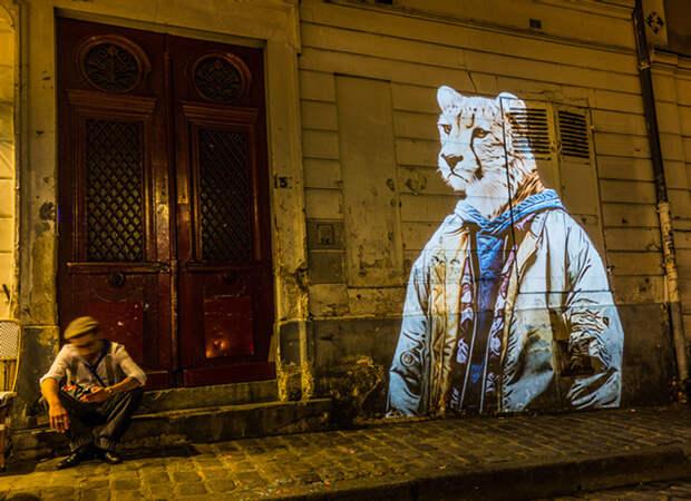 Арт-сафари на стенах Парижа