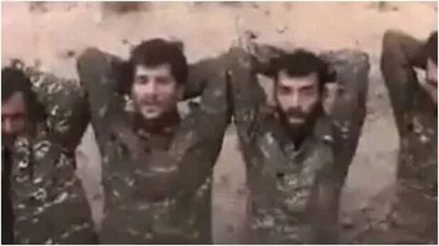В Нагорном Карабахе проверяют видео со 100 пленными армянскими военными