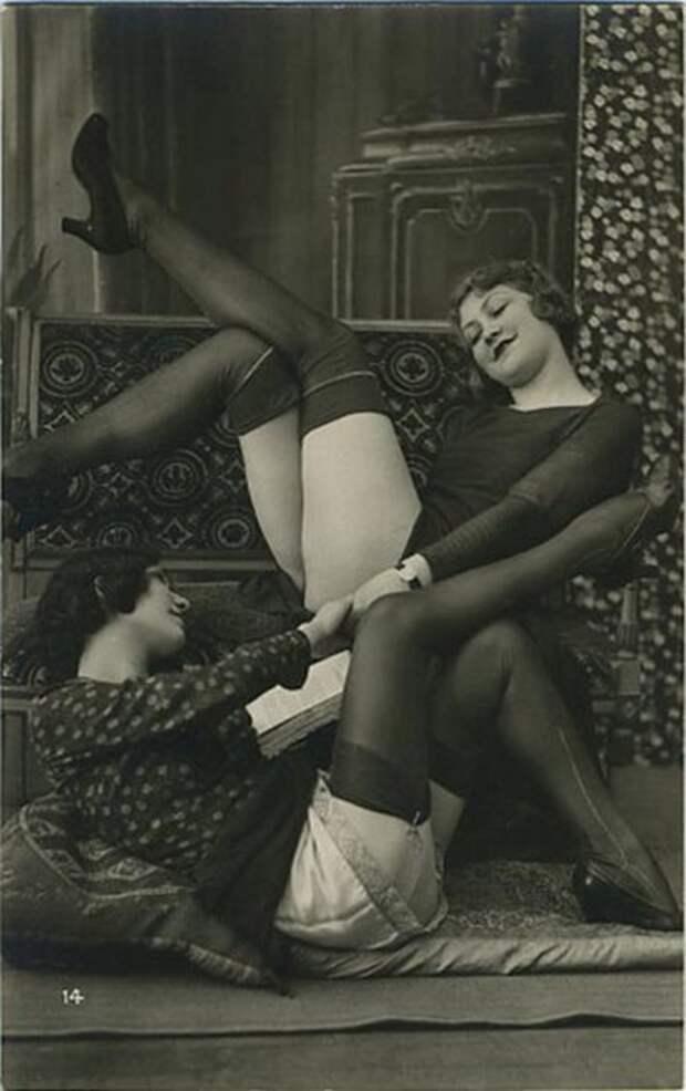 Милые дамы раскованных манер.