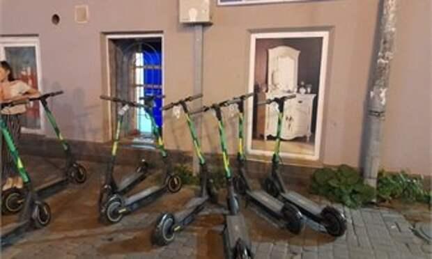 В Кирове появился сервис по прокату электросамокатов