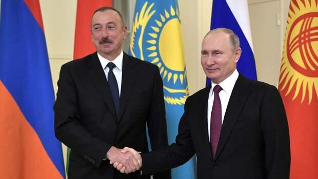 Алиев позвонил Путину для обсуждения Нагорного Карабаха