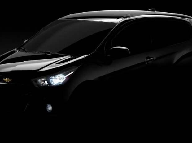 Новый компакт Chevrolet Spark покажут 2 апреля