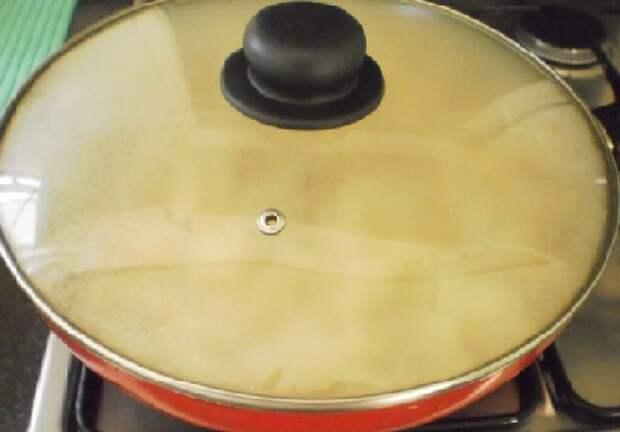 капуста с сосисками