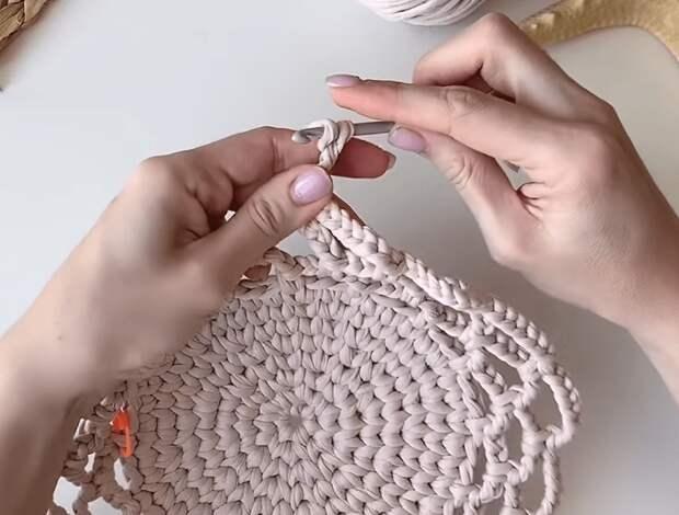Оригинальная современная авоська: элементарное вязание, доступное даже новичкам