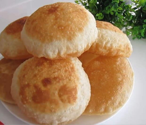 Удивительный хлеб без дрожжей, который надувается