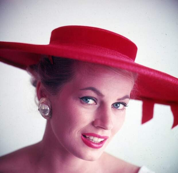 Анита Экберг, 1960-е годы.