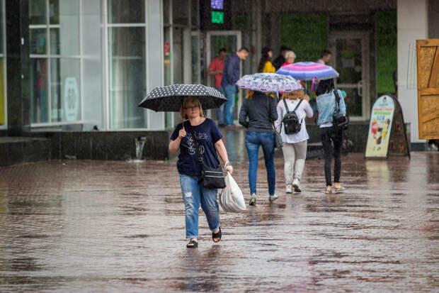 Никакой жары: на Новосибирскую область надвигаются дожди, грозы и град