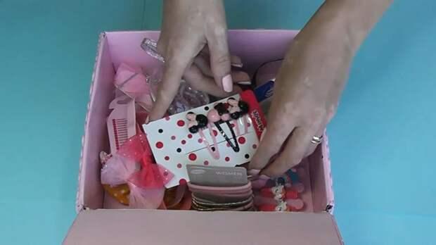 Быстрая, красивая и удачная идея из простой картонной коробки