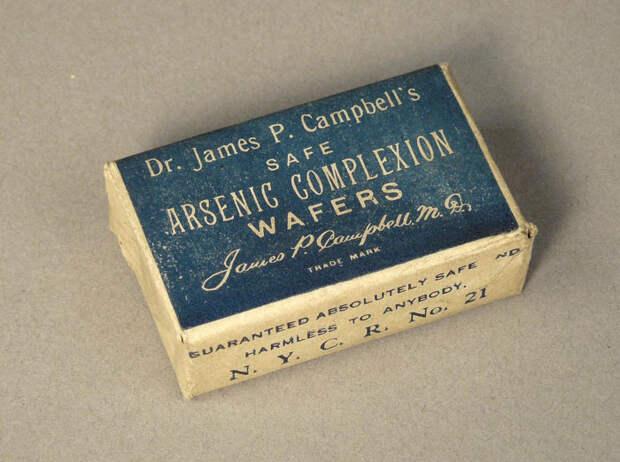 Мышьяк для жевания можно было купить свободно. /Фото:National museum of American history