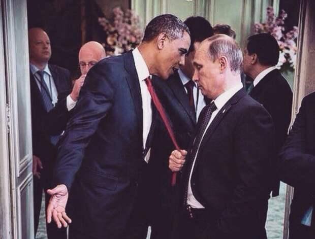 Обама нашел Путина физически непримечательным