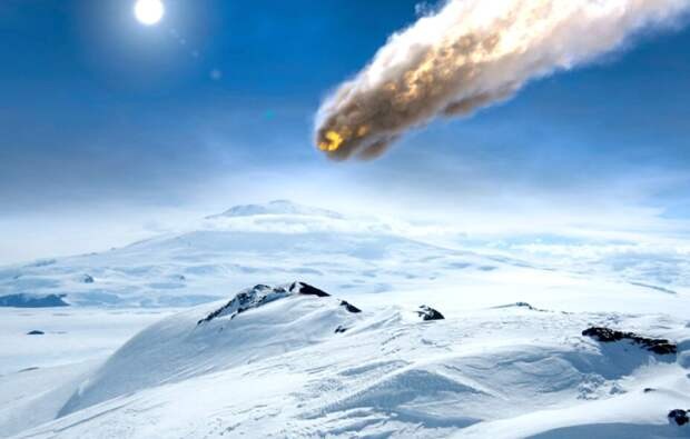 Ученые нашли свидетельства падения 100-метрового метеорита в Антарктиде