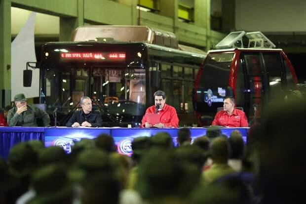Президент Венесуэлы мобилизовал армию страны из-за возможных провокаций