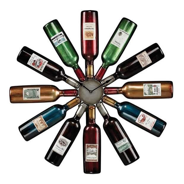 WineBottle20 22 способа превратить пустую бутылку в практичное произведение искусства