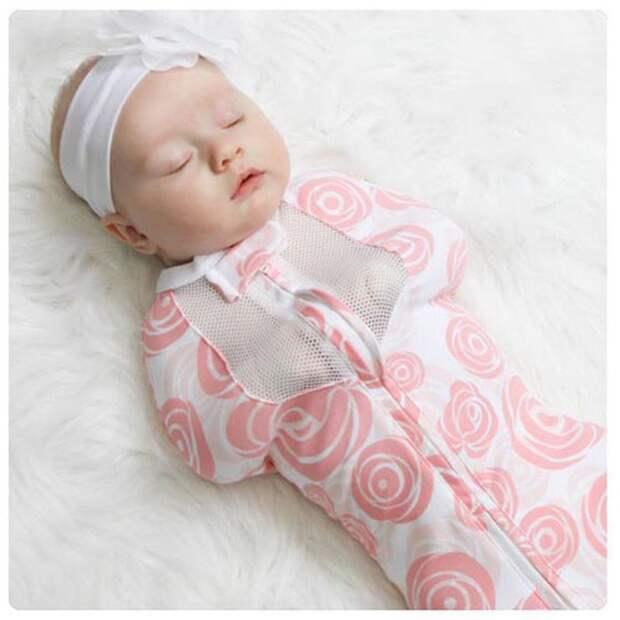 Выкройка пеленалки для младенцев