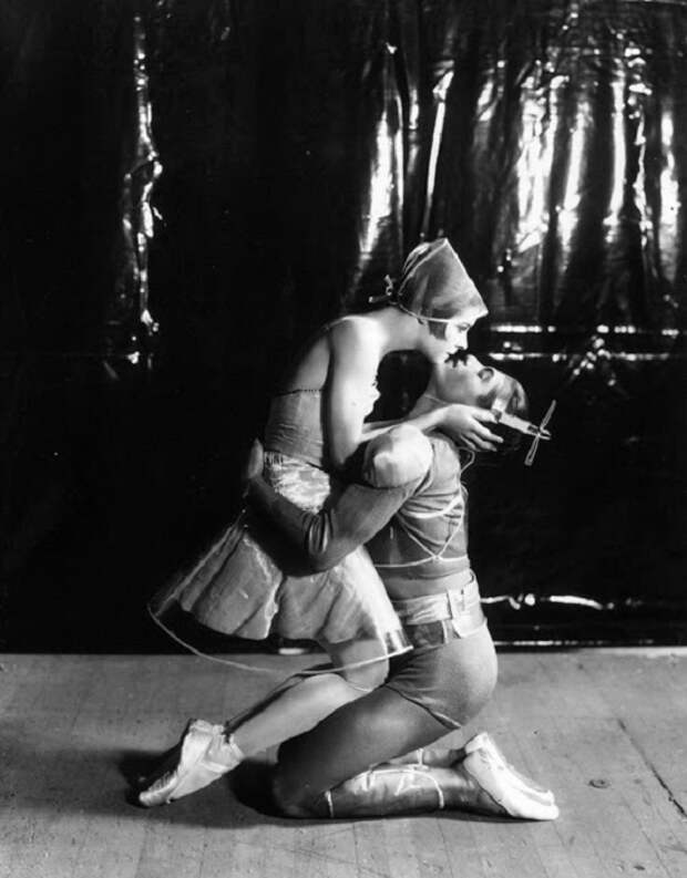 Великолепные и захватывающие старые фотографии артистов балета первой половины XX века