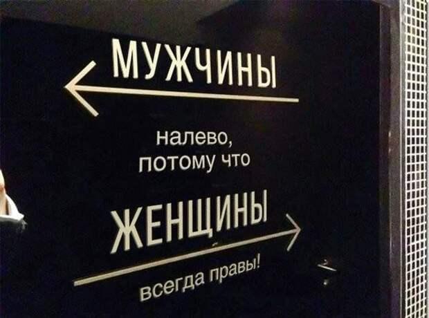Еще про указатели туалетов
