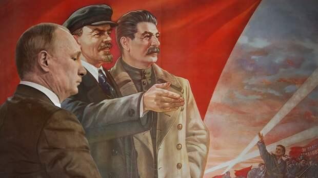 Влюбленные в вождей: Сталин, Путин и Ленин как кумиры россиян