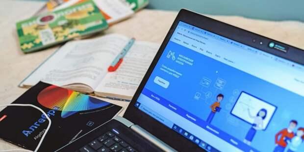 Собянин отметил эффективность столичной системы образования в период пандемии/ Фото: Е.Самарин, mos.ru
