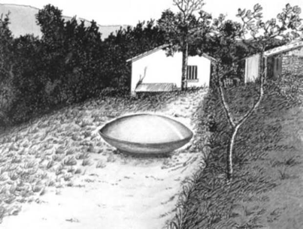 НЛО в Транс-ан-Провансе (реконструкция)