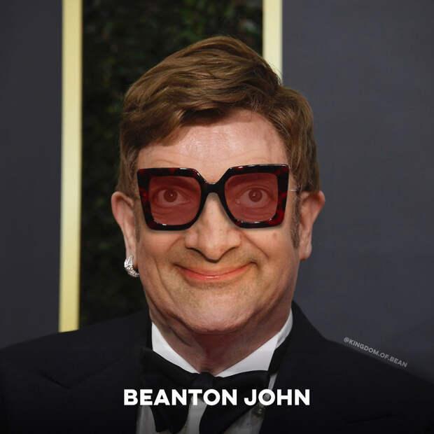 Если бы все знаменитости были Мистером Бином: 9 фото