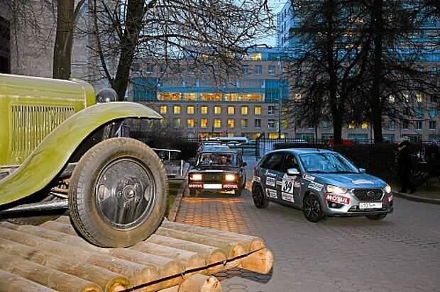 Datsun mi-DO из парка ЗР в ралли МАДИ: доехал!