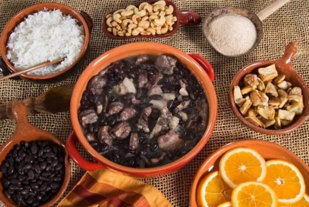 Фейжоада (Бразилия) блюдо, еда, туризм