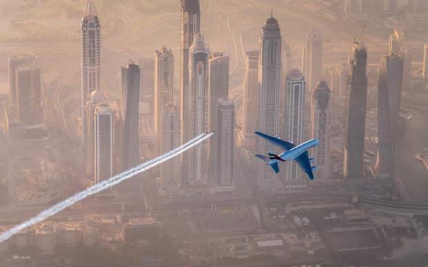 Полёт над Дубаем